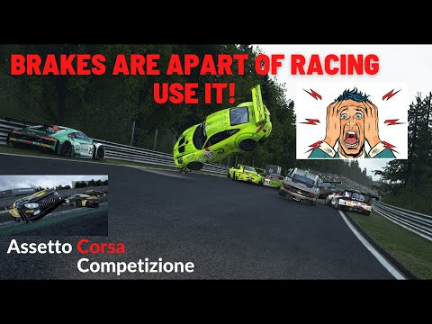 Brakes are apart of Racing too!-Assetto corsa competizione |