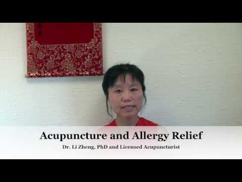 Acupuncture For Allergy and Sinusitis Relief