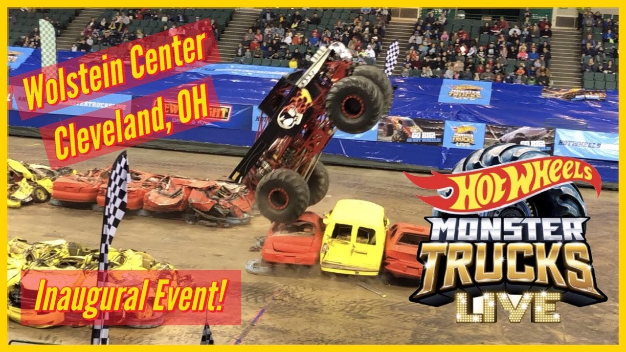 Hot Wheels Monster Trucks Live Show In Cleveland Oh Youtube