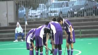 岩手・花巻にある富士大学。2011全日本大学選手権でのホッケー部のプレ...