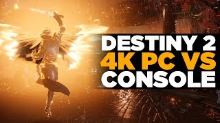 Destiny 2: PC and Console Gameplay Comparison