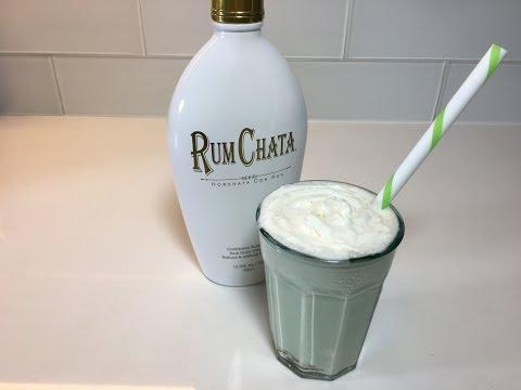 Rum Chata And Vanilla Milk Shake