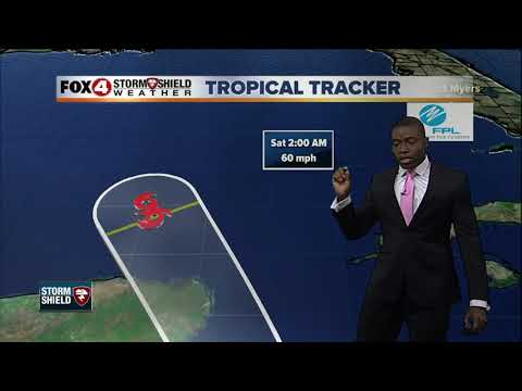 Tropical Storm Nate -- 5am Friday Update