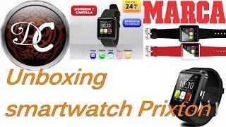 Unboxing Smartwatch Prixton, proximamente Review