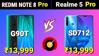 Redmi note 8 Pro vs Realme 5 Pro full Comparison - Specifications, Price, Camera