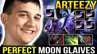 Arteezy Luna Crazy Moon Glaives ULTRAKILL with SATANIC