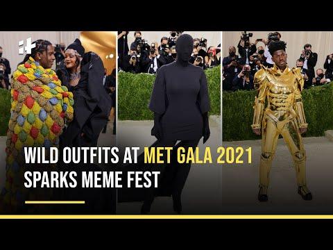 Met Gala 2021: Wild Outfits At Met Gala Sparks Meme Fest On Social Media