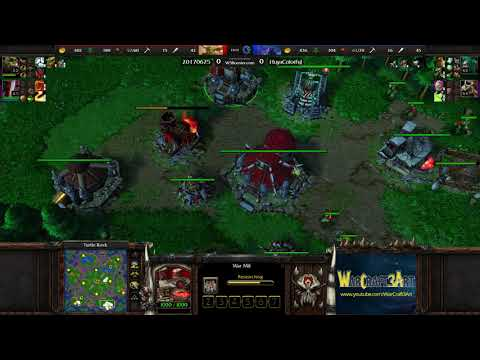 FoCuS(ORC) vs Colorful(NE) - Warcraft 3: Reforged (Classic) - RN4804