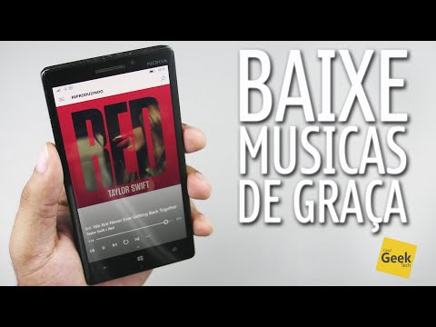 Como baixar Músicas de graça e adicionar foto do Album no Windows 10 Mobile/Windows Phone e mais