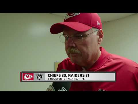 Chiefs vs Raiders: Postgame 1 on 1 with Andy Reid