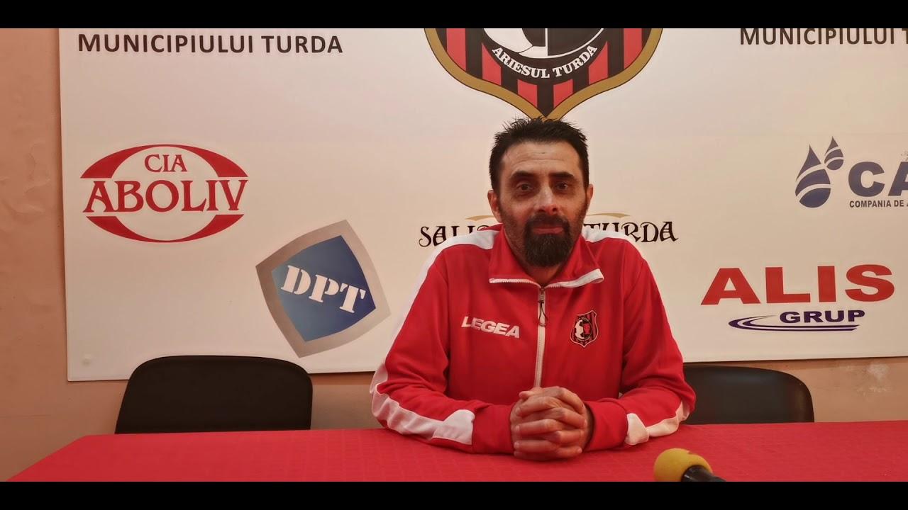 Constantin Olariu după Arieșul - Unirea Dej 2-0 (03.05.2019)