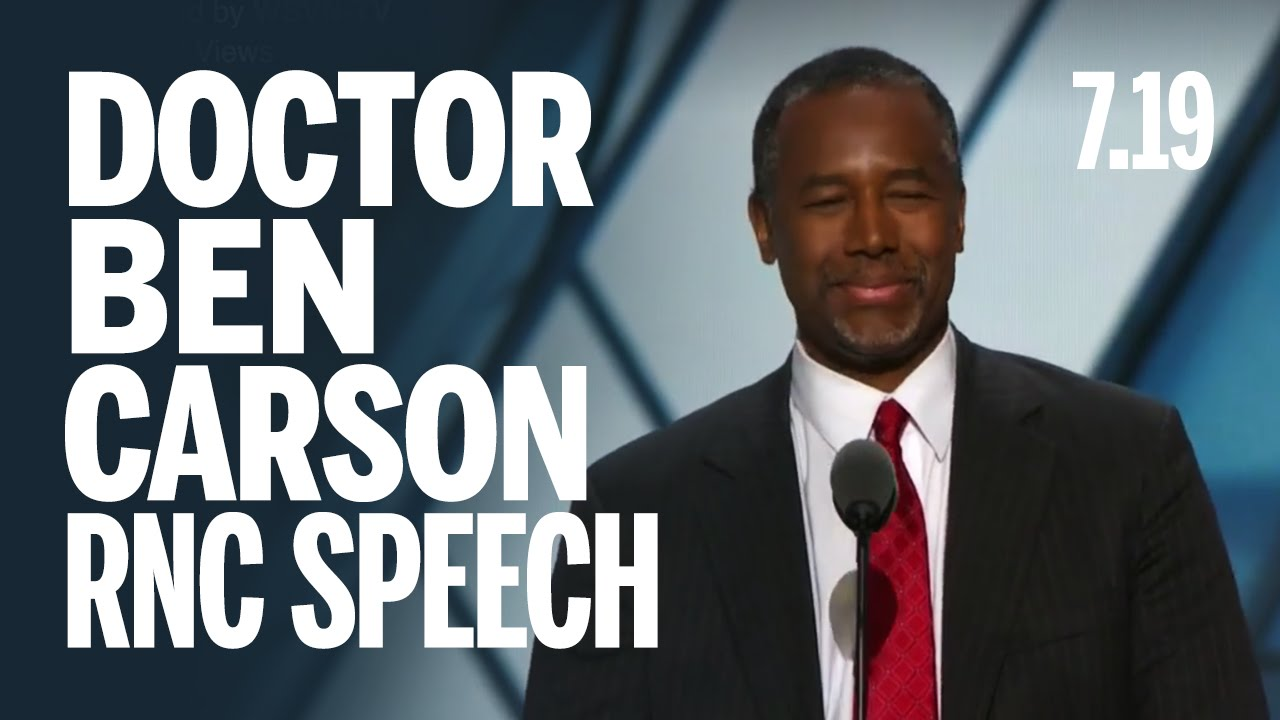 dr benjamin carson speech outline