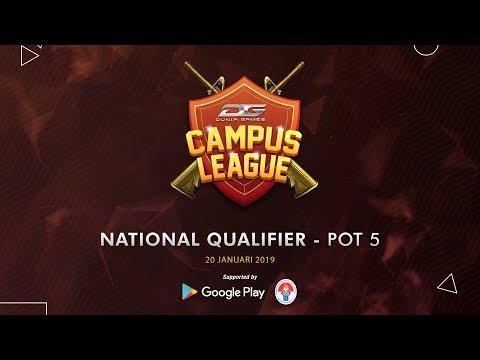 Dunia Games Campus League Qualifier POT 5 - 20 Januari 2019
