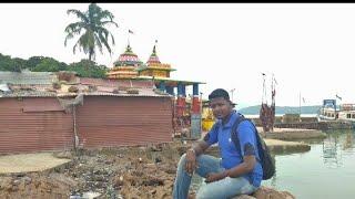 Kalijai temple , chilika lake island at barkul dist - ganjam (odisha)  India 1/08/2018