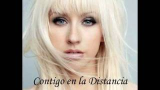 Watch Christina Aguilera Contigo En La Distancia video