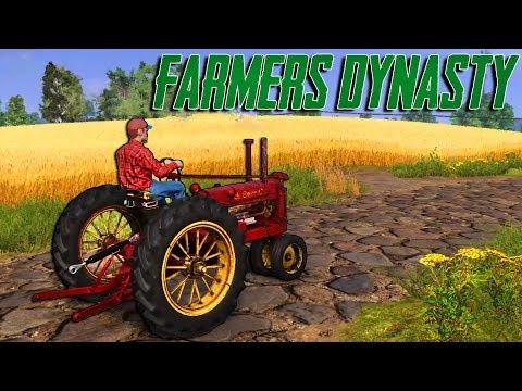EN İYİ ÇİFTLİK OYUNU BU OLABİLİR! (Farmer's Dynasty)