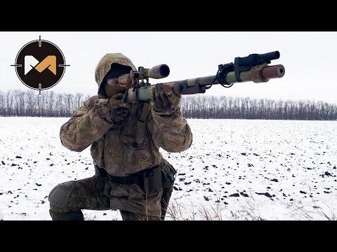 SNOW AIRSOFT SNIPER // ЗИМНЯЯ СНАЙПЕРСКАЯ ОХОТА. СТРАЙКБОЛ