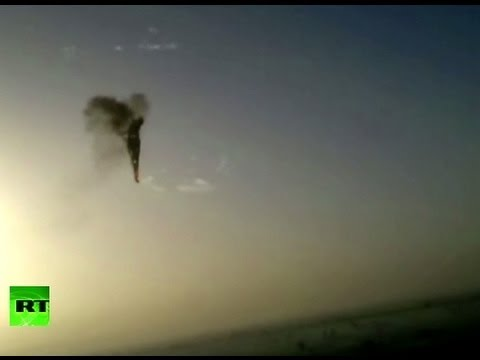 Moment of hot air balloon crash in Luxor, Egypt caught on camera