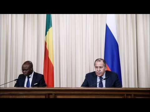 Conférence de presse Russie-Benin: Radio russe Sputnik(par Igor YAZON)