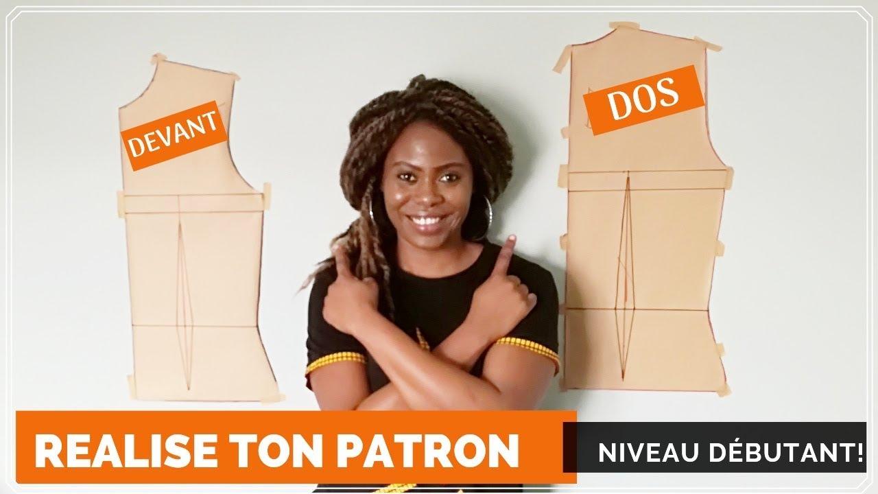 Download DIY  PATRON : CORSAGE DE BASE  SIMPLE POUR FEMME/ NIVEAU DÉBUTANT [DETAILLÉE]