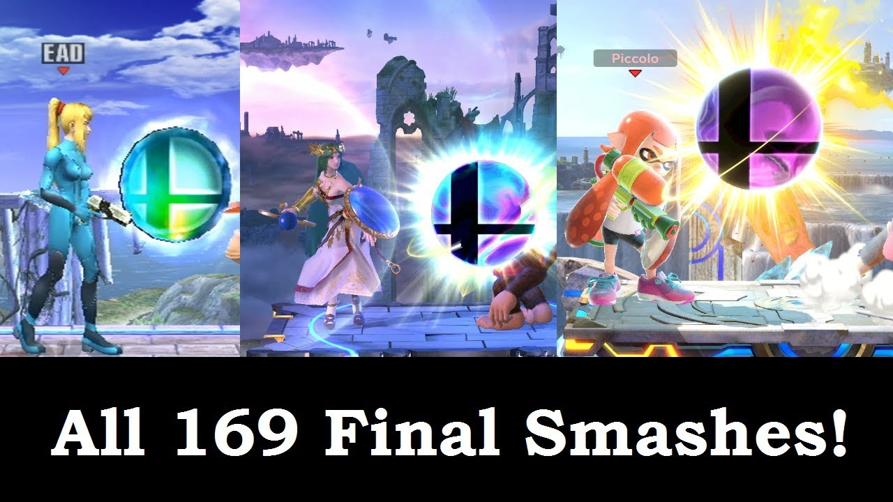 All 169 Final Smashes in the Super Smash Bros. Games