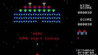 PC-8001mk2 Galaxian(ギャラクシアン)