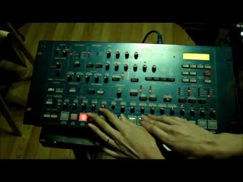 Running Korg MS2000r through Maschine MK2 as MIDI Controller