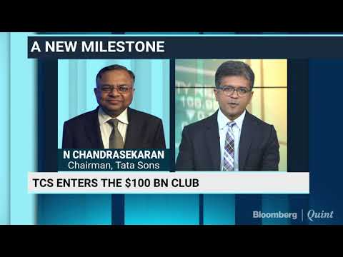 TCS Becomes India's First Tech Company To Cross $100 Billion Market Cap