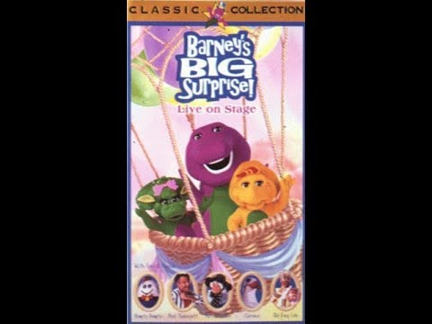 Barney's Big Surprise (1998 VHS Rip)