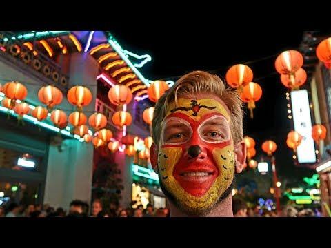 #696 L.A. CHINATOWN NIGHTS Celebration - Jordan The Lion Daily Vlog Travel (7/3/18)