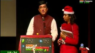 """Come India Sing A Christmas Carol"" on LOK SABHA TV Program ""State of Culture"" 23December2014 6:30pm"