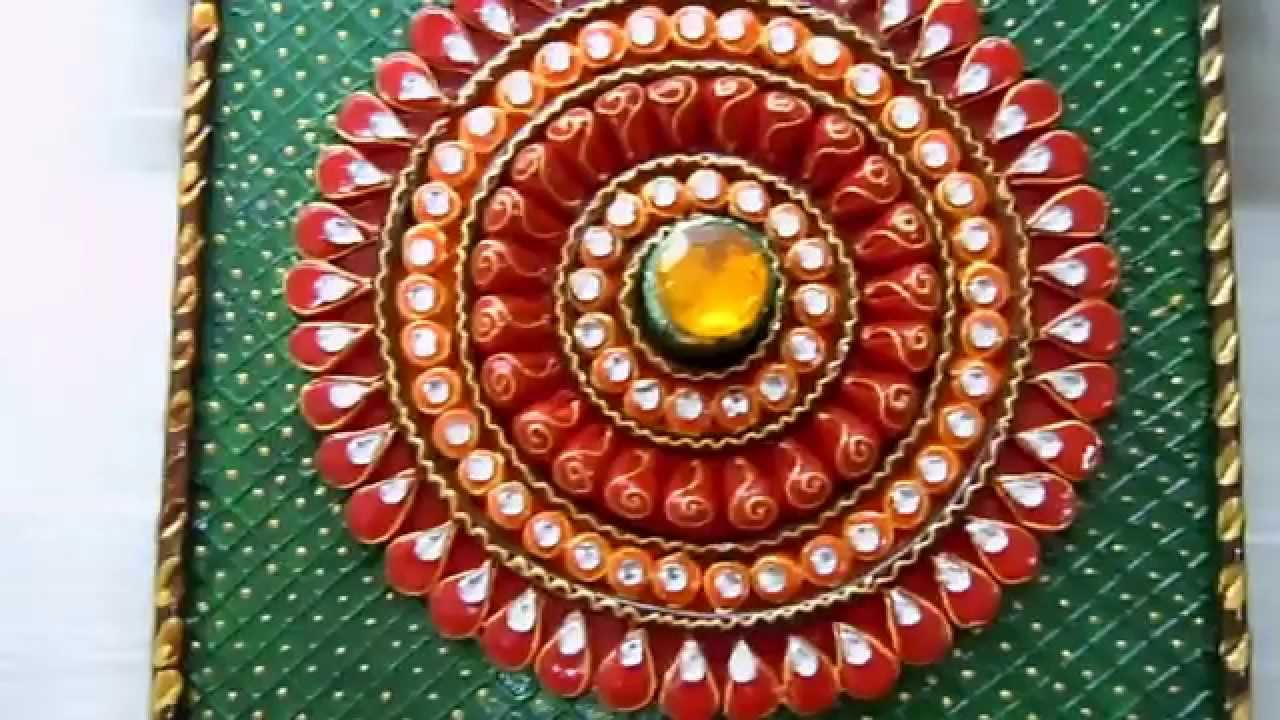 Paper mache royal handicraft india pvt ltd youtube for Handicraft made by waste material
