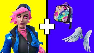 10 BEST COMBOS For The Nitebeam Skin In Fortnite! Nitebeam Skin Best Back Bling Combos!