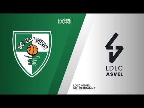 Zalgiris Kaunas - LDLC ASVEL Villeurbanne Highlights | Turkish Airlines EuroLeague, RS Round 27