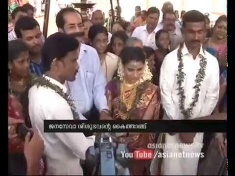 Two orphan girls married from Janaseva Shishubhavan