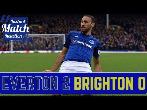 Everton 2-0 Brighton Hove & Albion | Cenk Tosun Fires Blues To Win
