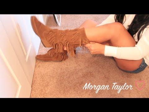 ❤ New Boots!⎮Minnetonka 3 Layer Fringe⎮