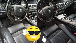 Cum Am Reîntinerit O Mașină Deja Tânără - Detailing Interior BMW F10