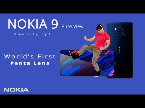 Nokia 9 First Look with 5 REAR CAMERA | Nokia 9 Release Date, Specs, Price 2018
