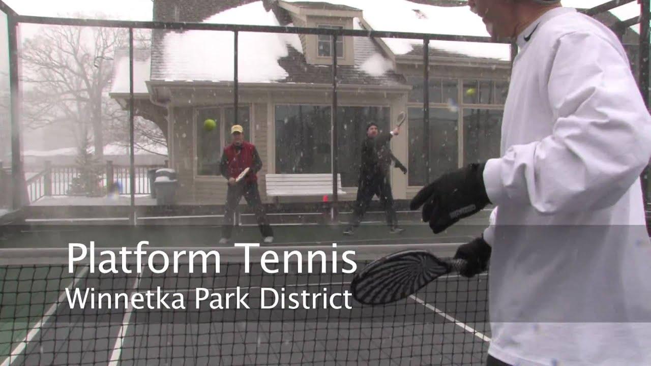 Platform Tennis Youtube