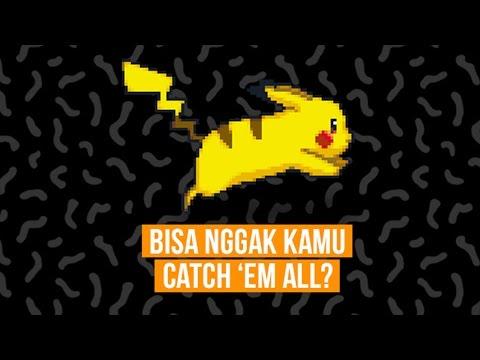 Bisa Nggak Kamu Catch 'Em All? (Quiz)