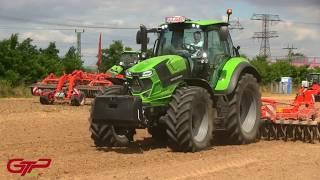 NEW   DEUTZ FAHR series 6 & 7 Agrotron tractors   Tier 4 Final