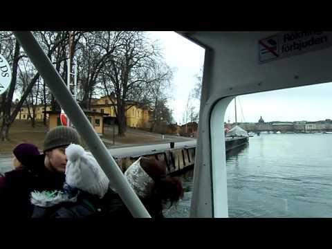 Ferry ride from Sodermalm into Skeppsholmen