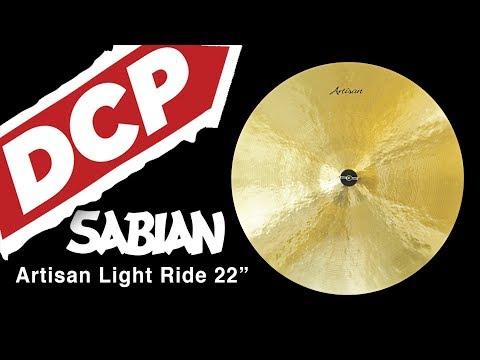 """Sabian Artisan Light Ride Cymbal 22"""" 2723 grams A2210"""