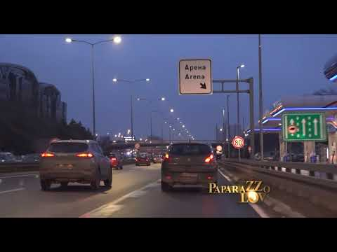 Nasilna vožnja gradom Jelene Karleuše
