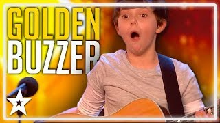 Father and Son Get Simon Cowell's GOLDEN BUZZER on Britain's Got Talent | Kids Got Talent