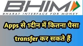 bhim Upi transaction limit Kaise badaye