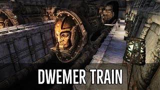 Dwemer Trains & Submarines! | Skyrim Mods: Dwemer Train Stations (SSE)