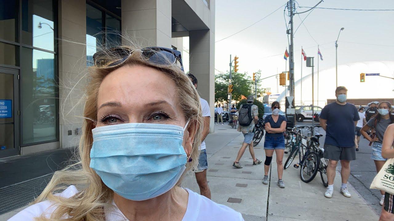 Торонто протест сейчас.