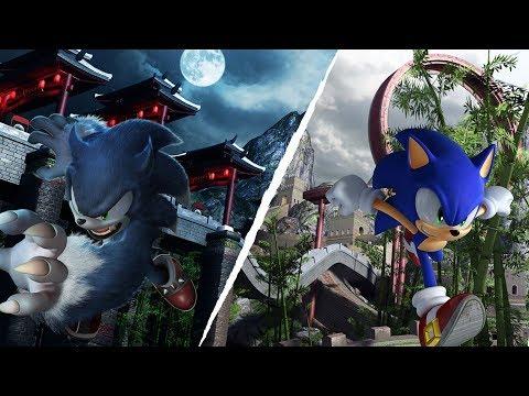 Sonic Unleashed - All CutScenes + Secrets (ENG/日本語) [1080p]